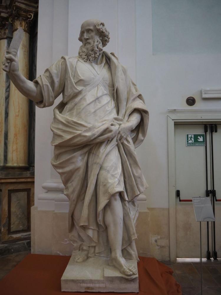 St Bartholomew by Ippolito Buzi (1616-7)