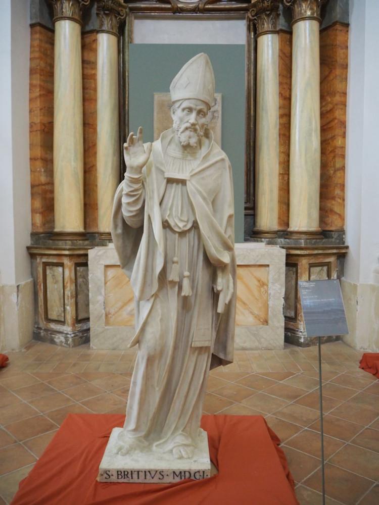 St Brictius (1601) by Fabiano Toti