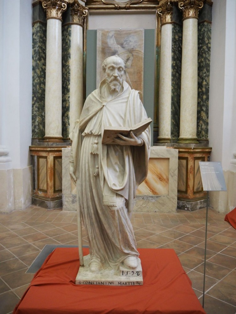 St Constantius (1593-6) by Fabiano Toti