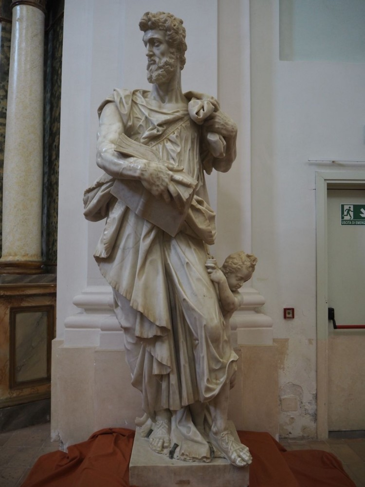 St Matthew designed by Giambologna and executed by Pietro Francavilla 1595-1600