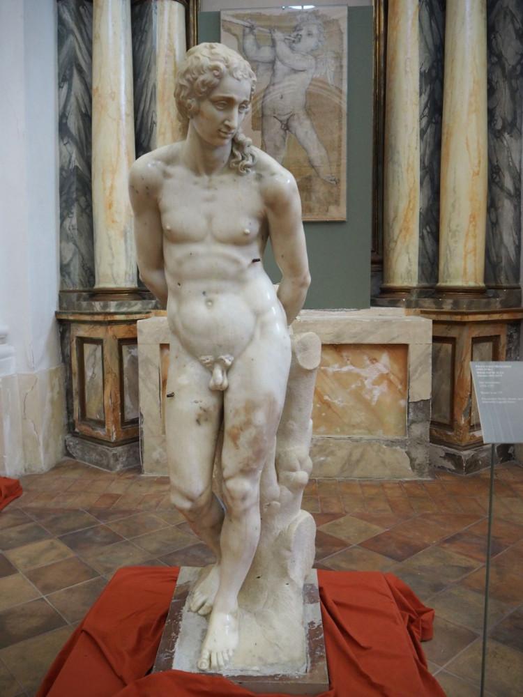 St Sebastian (1554-7) by Francesco Mosca, il Moschino