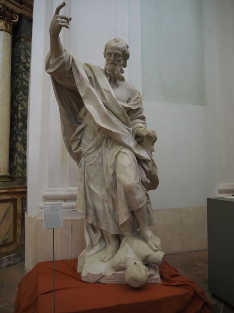 St Simon by Bernardino Cametti (1722)