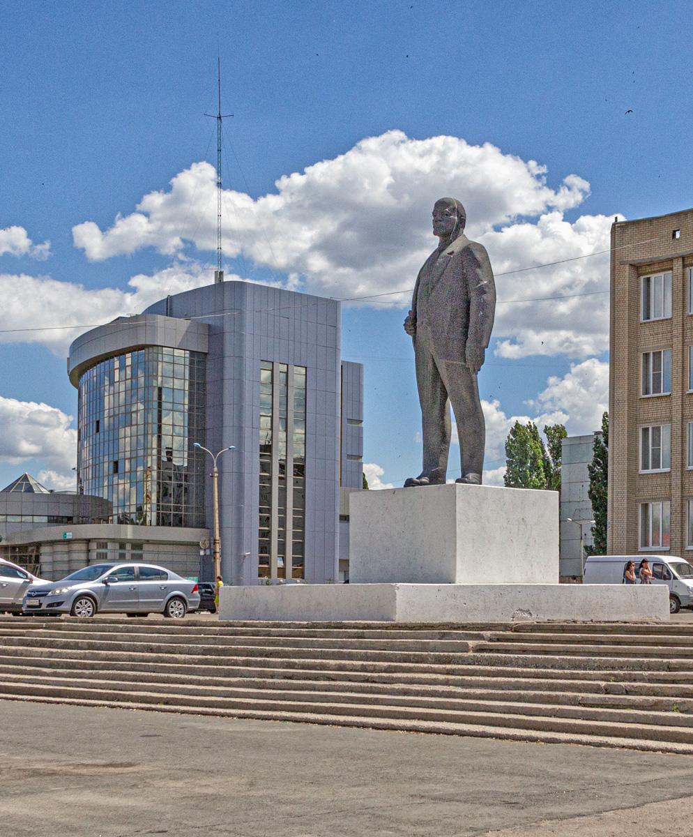 Ленин в Балаково