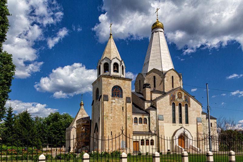 Украшение Балаково, архитектурный шедевр - Свято-Троицкий храм.