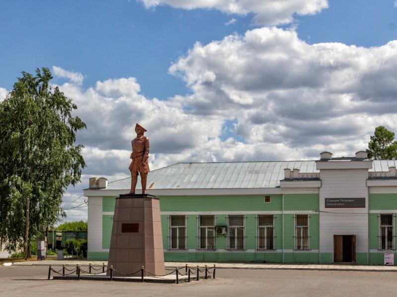 Петр 1 в Петровске.