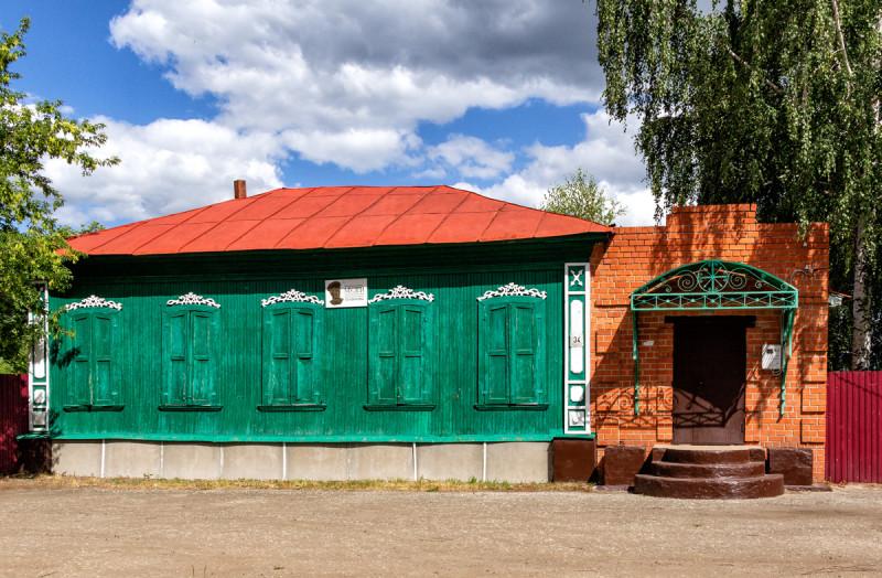 Музей И. Панфилова.