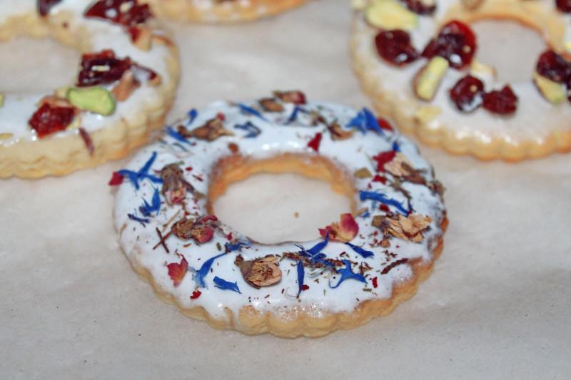 Песочное кольцо рецепт с фото