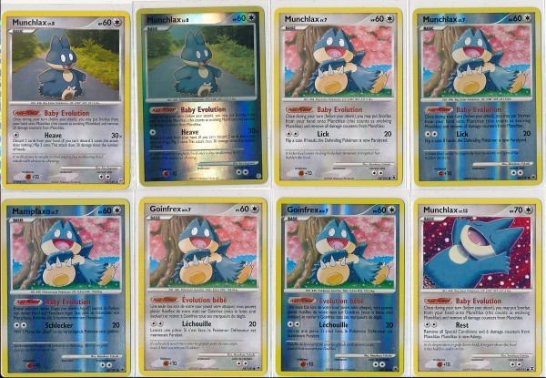 Munchlax Cards 1