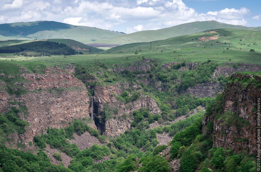 Дашбашский каньон. Грузия