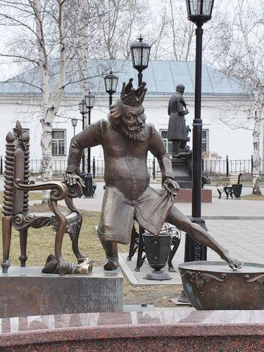 тобольск. сказки ершова