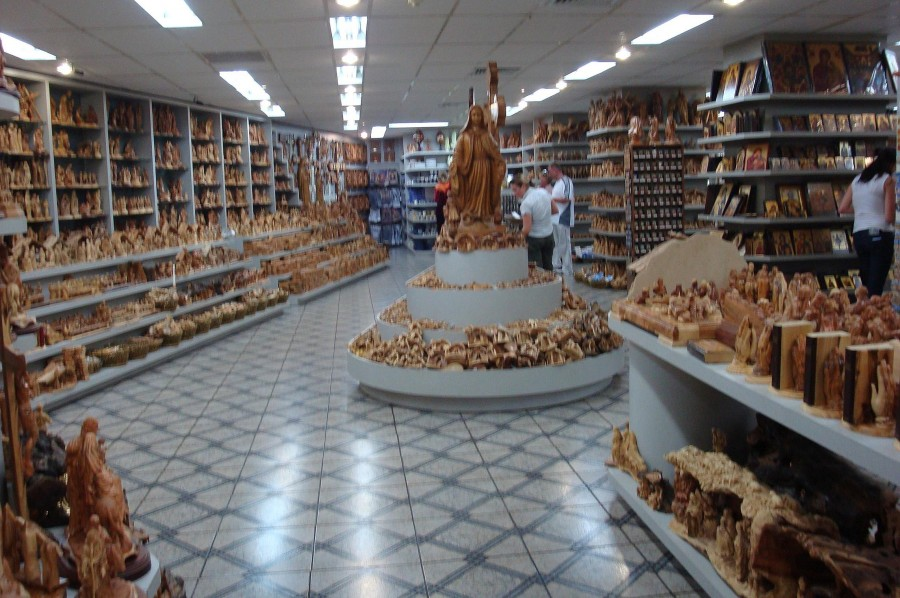 Магазин с сувенирами в Палестине