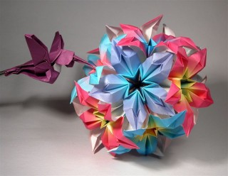 Flower madness kusudama