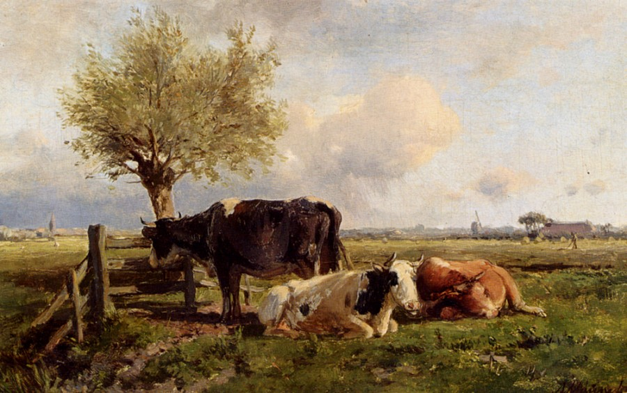 Mauve_Anton_Resting_Cows