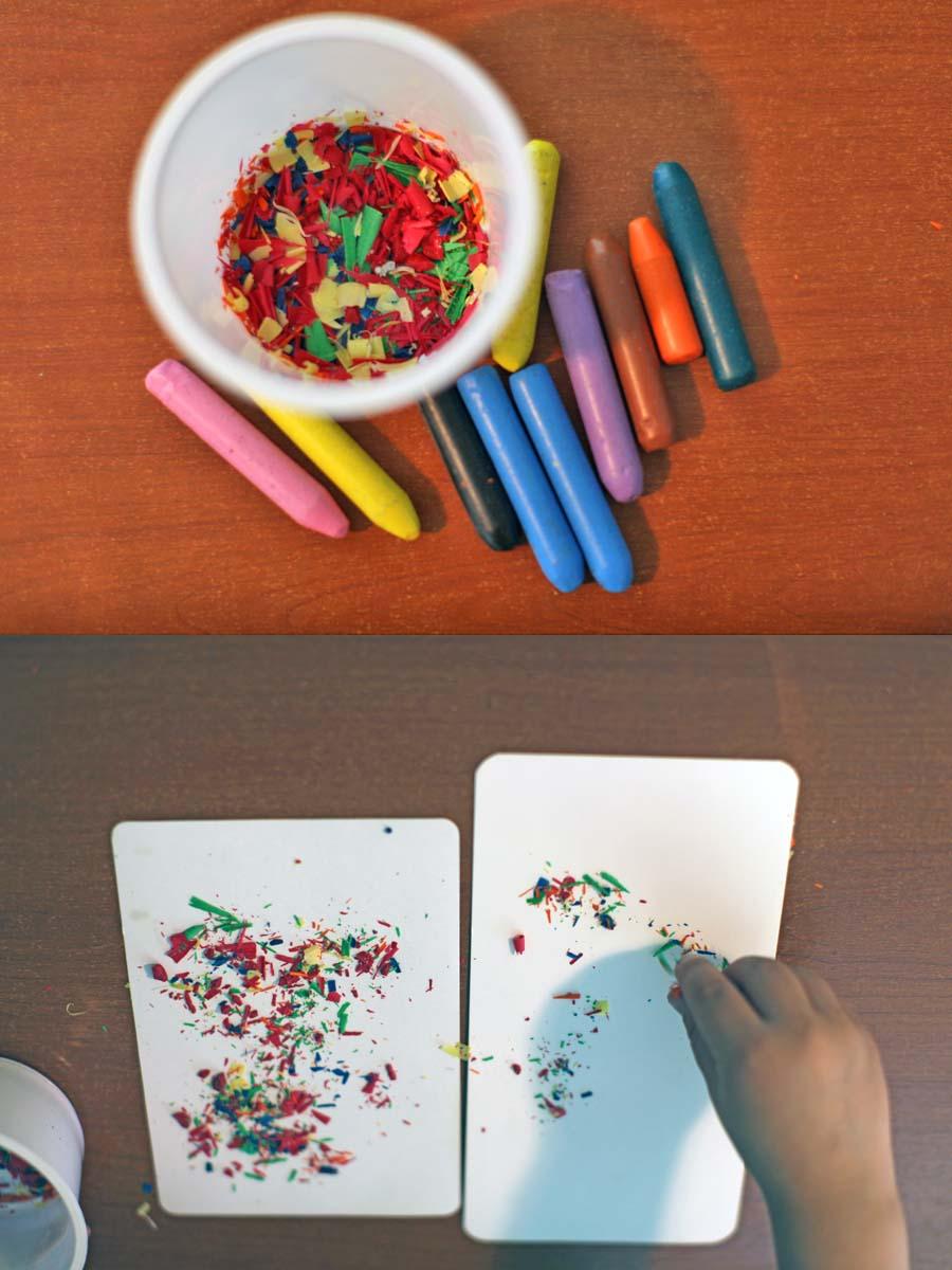 Эксперимент с карандашом 1