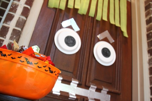 Halloween-Craft-Monster-Door-500x333
