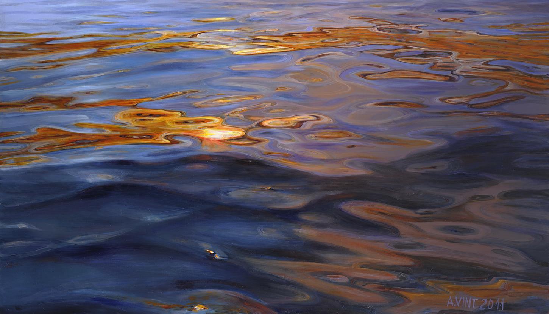 35++Sunset+Flash+2011+oil+on+canvas+110+x+191+cm+päikesesähvatus