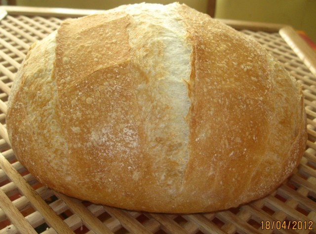 фото хлеб круглый