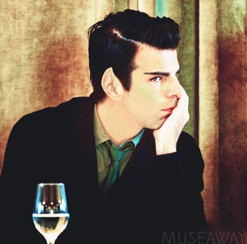 Spock looking sad