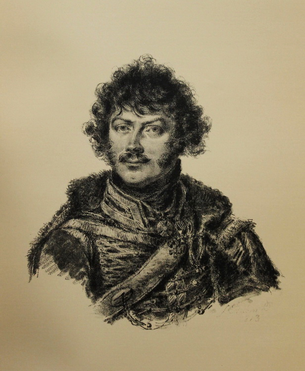 А.Н. Сеславин. Худ. Л. де Сент-Обен. 1813 г..jpg