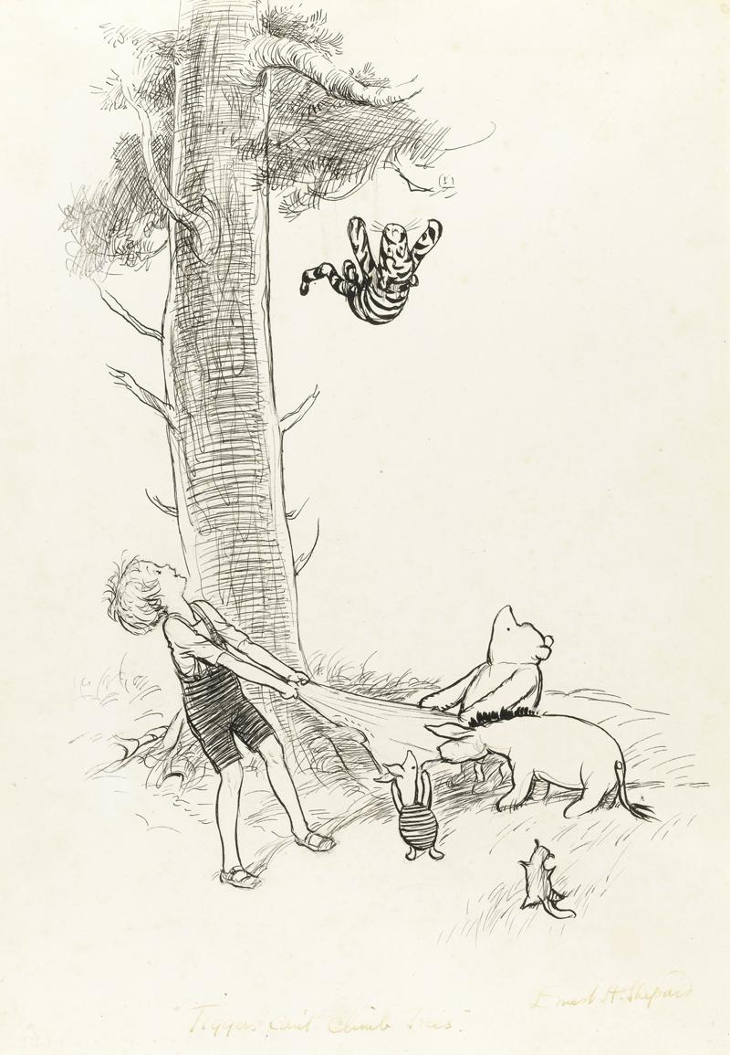 винни пух, иллюстрации, история, мишки