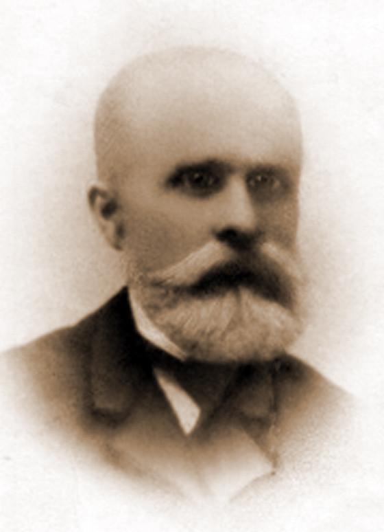 Отец – Алексей Иванович Островский. 1900-е г.г.