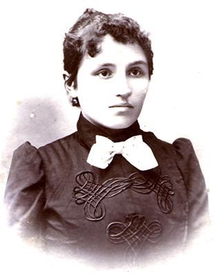 Мать – Ольга Осиповна Островская. 1900-е г.г.