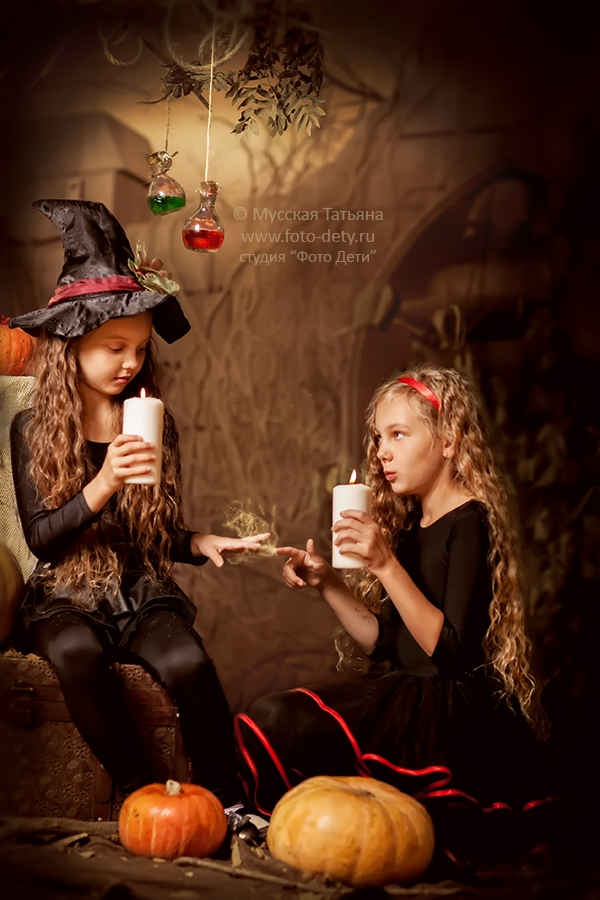 Идеи для фотосессии на хэллоуин фото