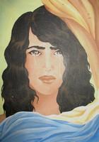 acrylique moche sur toile