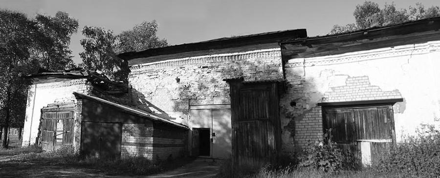 Западный фасад. Современный вид.