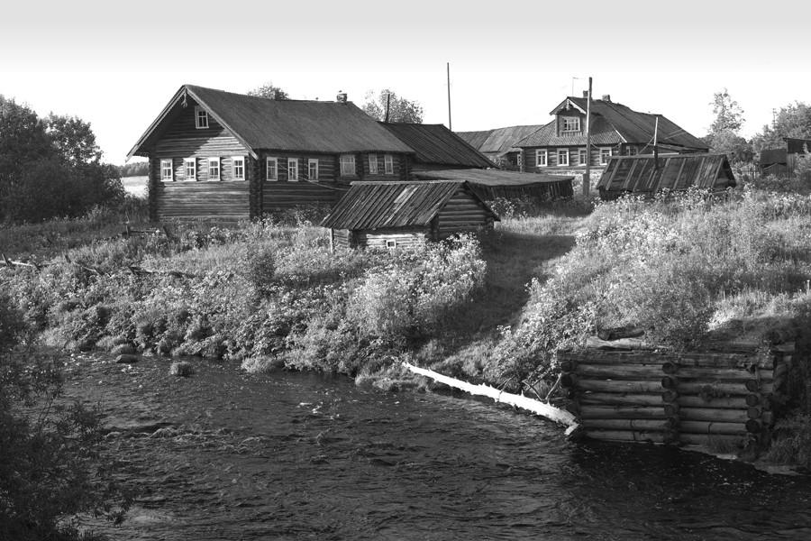 059. Аверкиевская. Река Большая Сондола