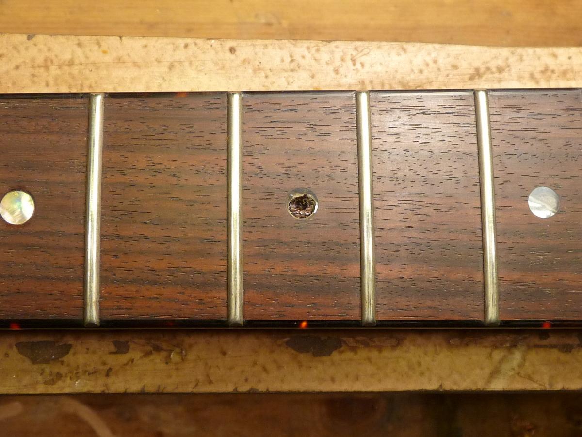 Замена ладов на гитаре своими руками 64