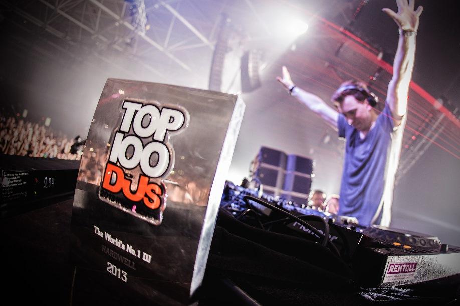 Hardwell (#1 TOP100 DJ 2013)