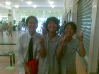 wei en, best frnd, and Shorty!