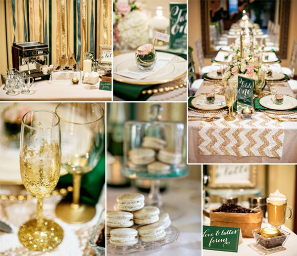 2014-trending-gold-and-green-chevron-wedding-ideas