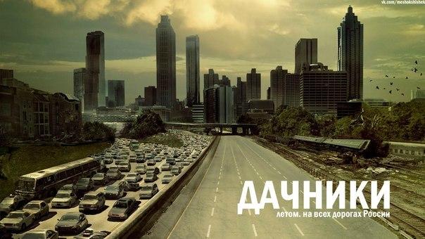 дачники-дача-дорога-Россия-703334