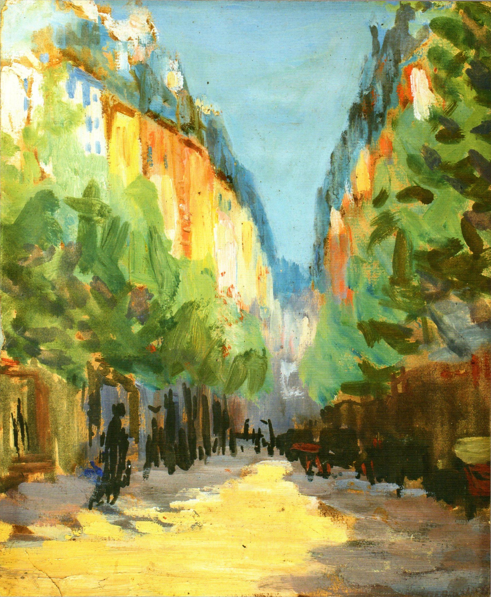 И.Малик Бульвар в Париже