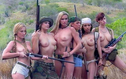 женщины-охотницы
