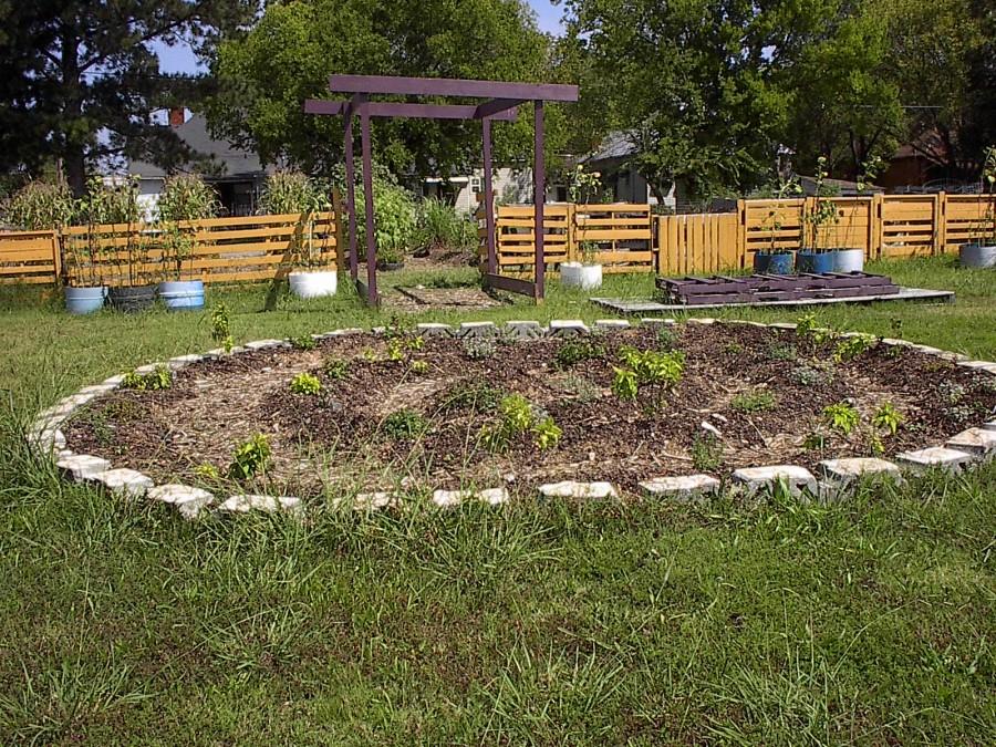 Spiral Bed at the Urban Garden 2012