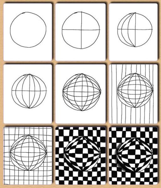 Рисуем оптическую иллюзию 2