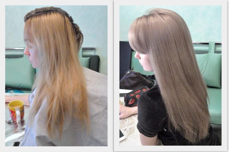 Цвет волос бежево-русый