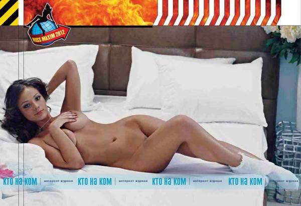 Месяца. Сексуальная студентка из Ялты стала звездой журнала Maxim