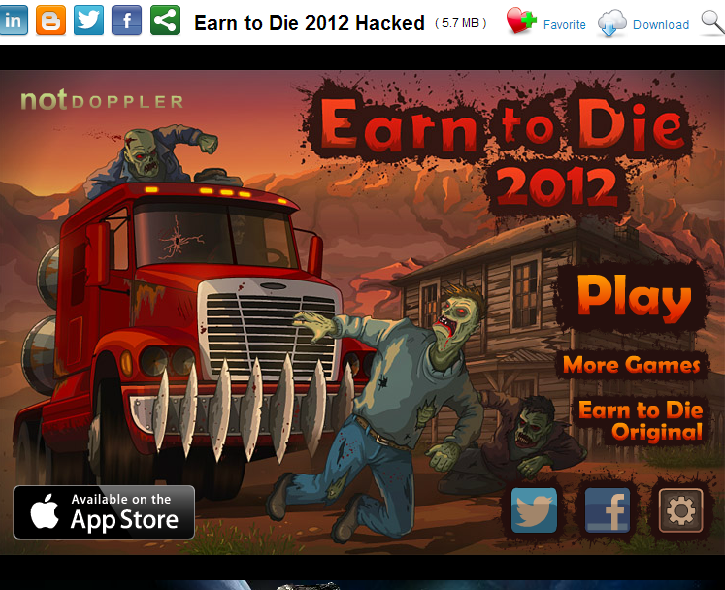 Earn To Die Hacked At Hacked Arcade Games | gnewsinfo.com
