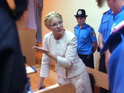 Тимошенко посадят в тюрьму