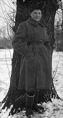 Федосья в блокаду, Ленинградский фронт.