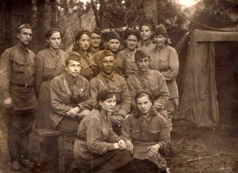 Ленинградский фронт.