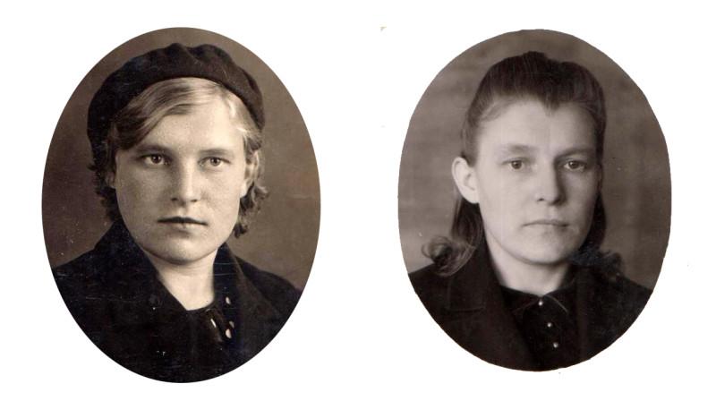 До  и после войны...
