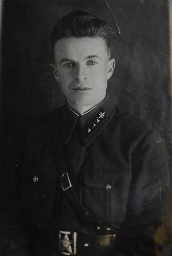 1939 г. Преподаватель военного училища.