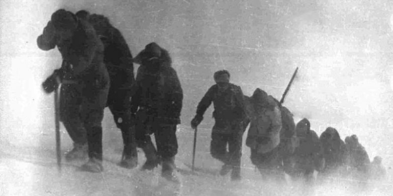 Штурм восточной вершины Эльбруса. 17 февраля 1943 г.