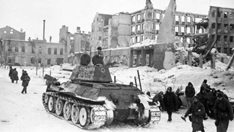 Сталинград. Наступление советских войск зимой 1943. Фото: © asu.ru