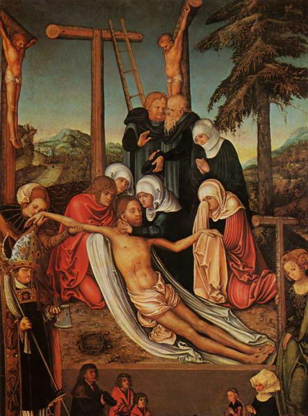 38 Р04 Лукас Кранах Распятие 1515